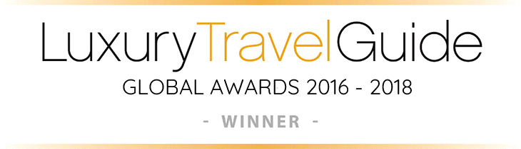 Luxury Travel Guide Global Awards Winner 2016 - 2018